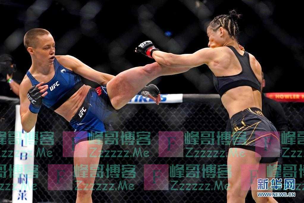 终极格斗冠军赛UFC 261:张伟丽无缘卫冕冠军