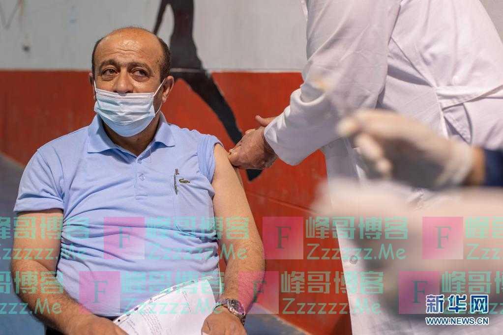 巴勒斯坦:接种中国疫苗