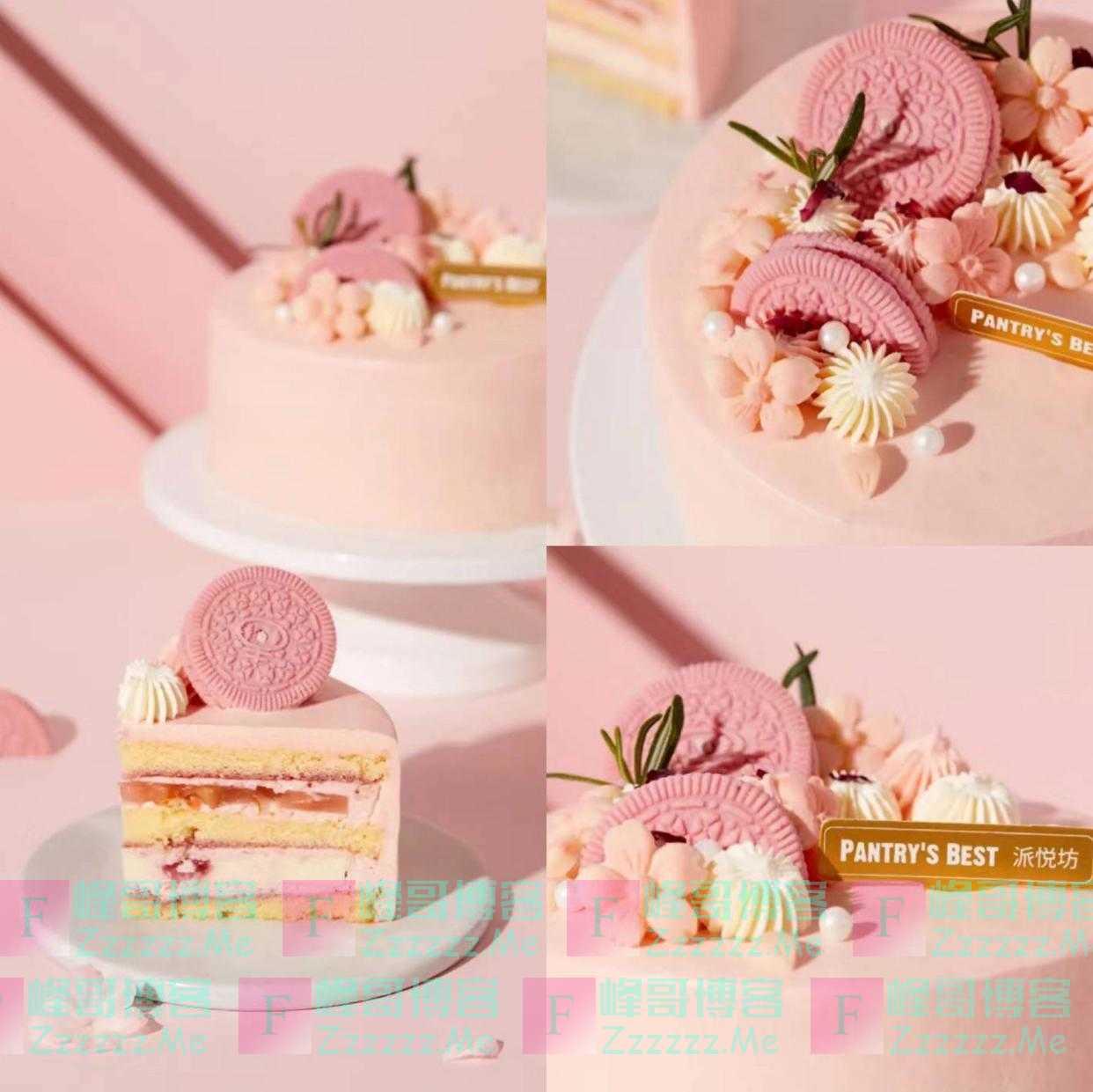 好吃丨用甜蜜的蛋糕,把妈妈宠成少女