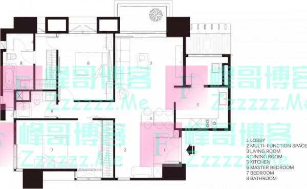 100平的日式风二居室,在极简的基础上,加入温馨质感