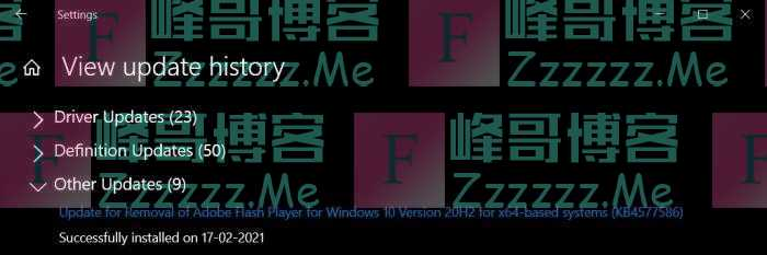 Windows 10的更新系统将在今年7月彻底删除Flash Player
