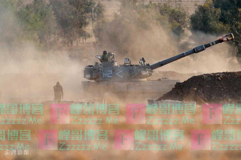 巴以冲突升级 以色列空军和地面部队开始进攻巴勒斯坦加沙地带