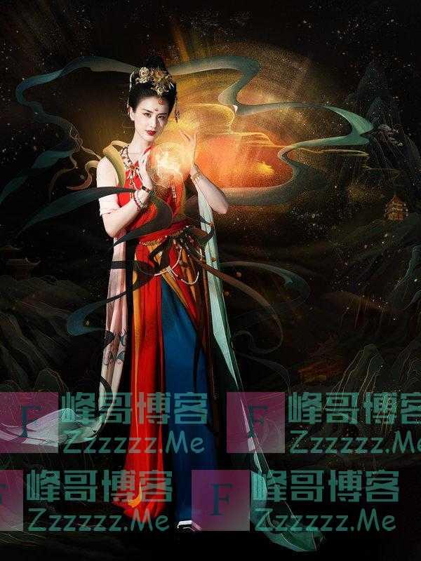 黄圣依还原敦煌天女造型 轻歌曼舞尽展古典风韵