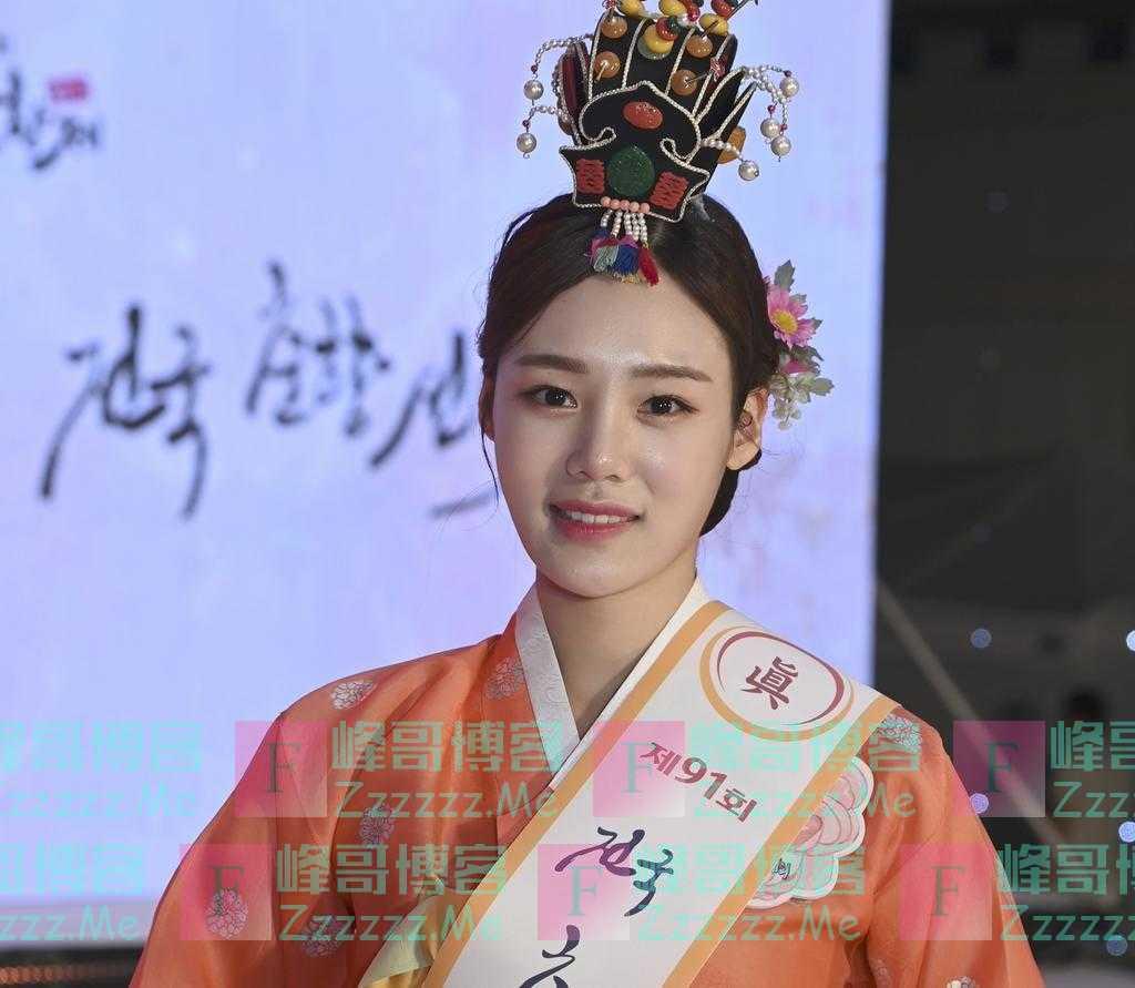 """韩国""""传统美人""""冠军诞生:系22岁女大学生 获奖500万韩元"""