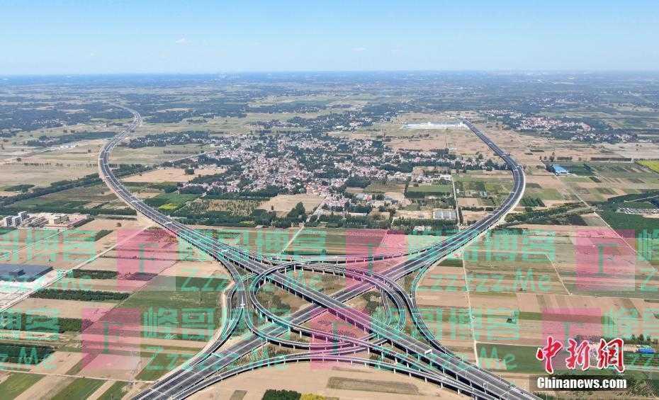 雄安5条公路同日通车 对外骨干路网全面形成