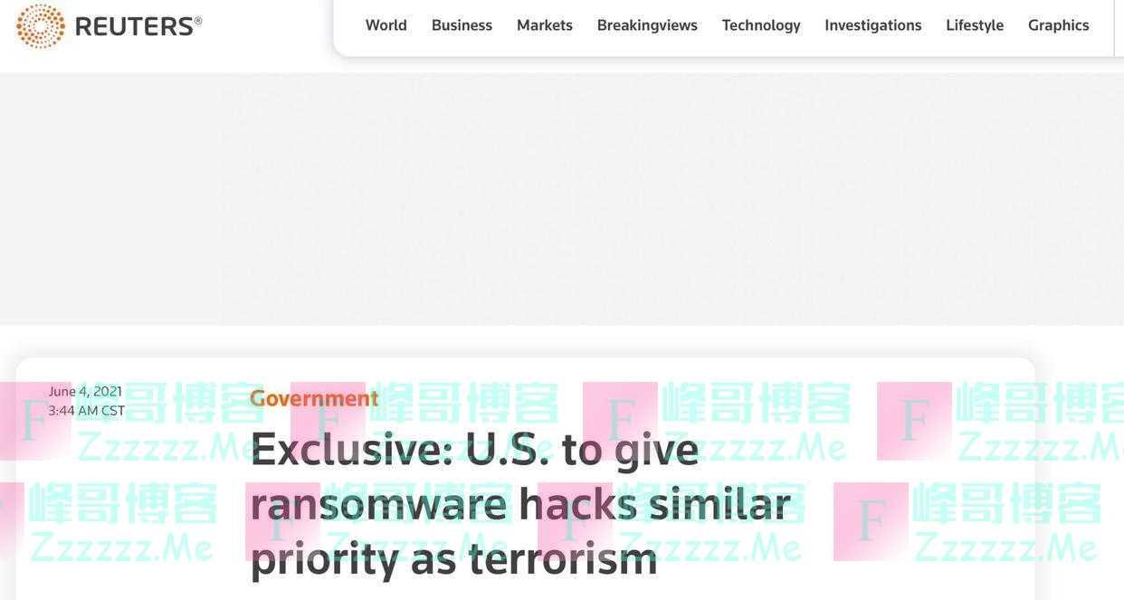 """""""拜登政府已火烧眉毛了""""!外媒:美国将把对黑客攻击调查提升至与恐怖主义相当水平"""