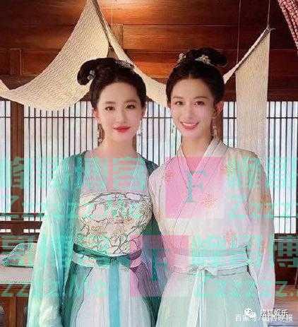 刘亦菲与《梦华录》演员合照曝光