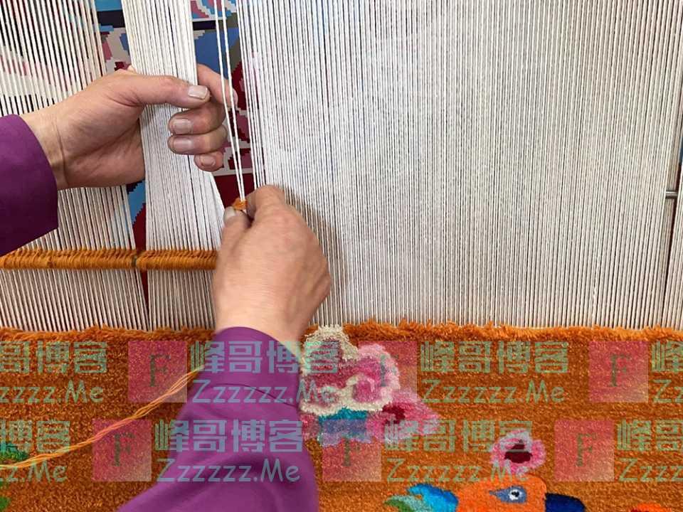潮头观澜丨藏毯传奇 民族瑰宝