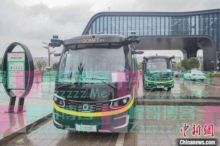 苏州第二条自动驾驶公交车线路面向市民全面开放