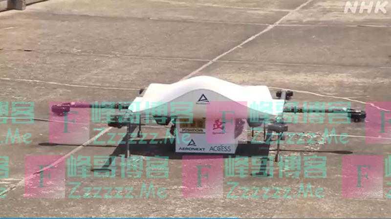 日本一企业开展无人机送餐试验 成功将牛肉饭送抵5公里外目的地