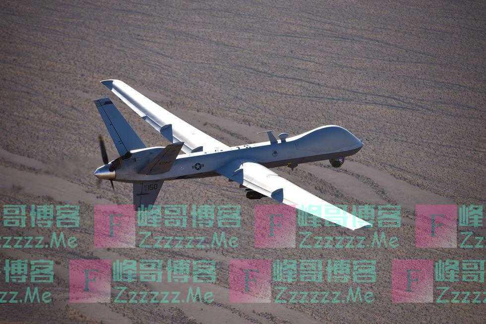 美空军故意把价值1129万美元的无人机撞毁?防止被捡到敏感部件!