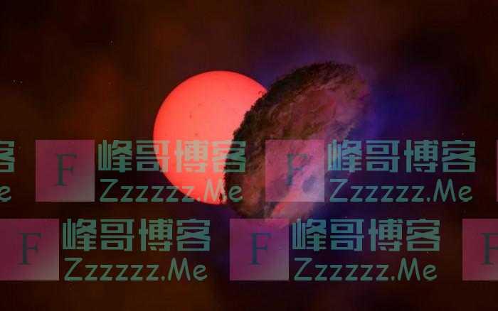 """天文学家在银河系中心附近发现一颗奇怪的""""闪烁巨星"""""""