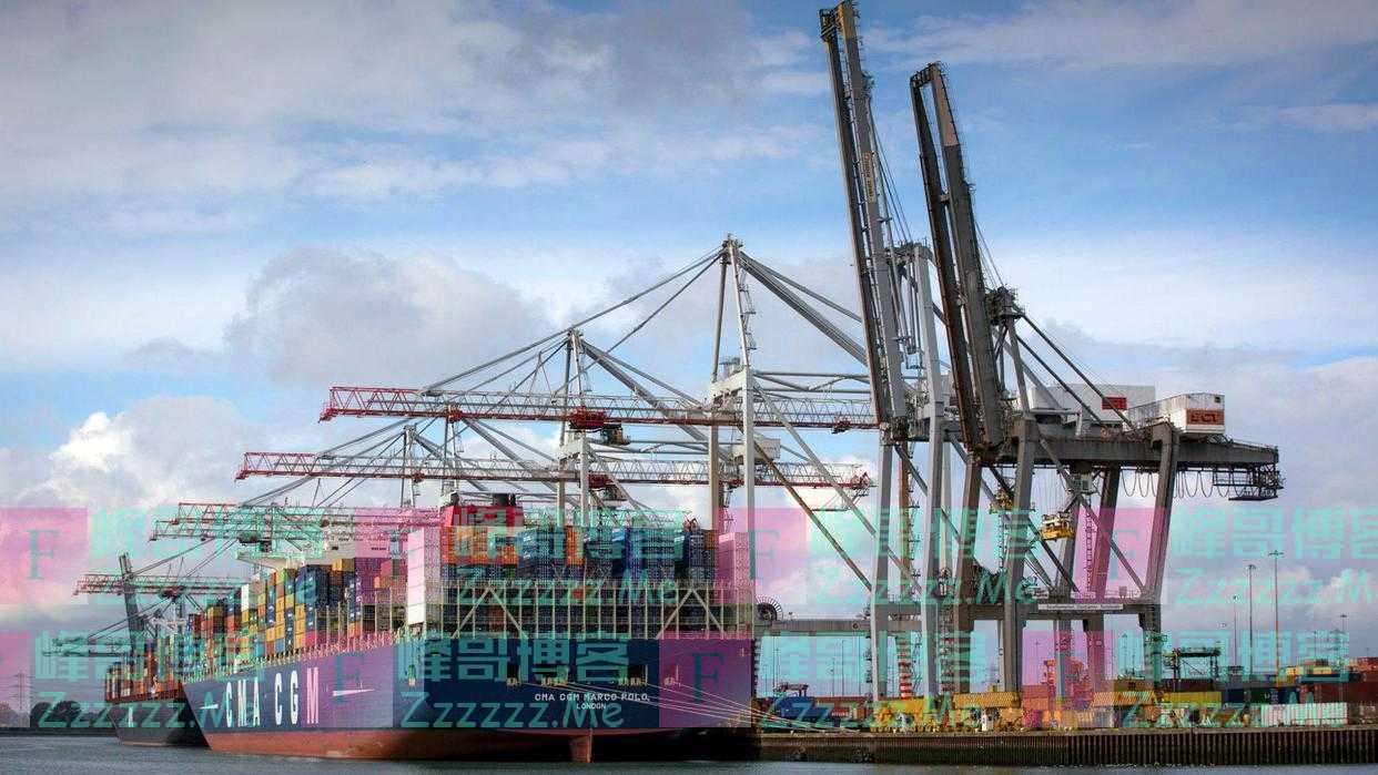 """""""脱欧""""和疫情期间英国从中国进口增长65%,排名已取代德国"""