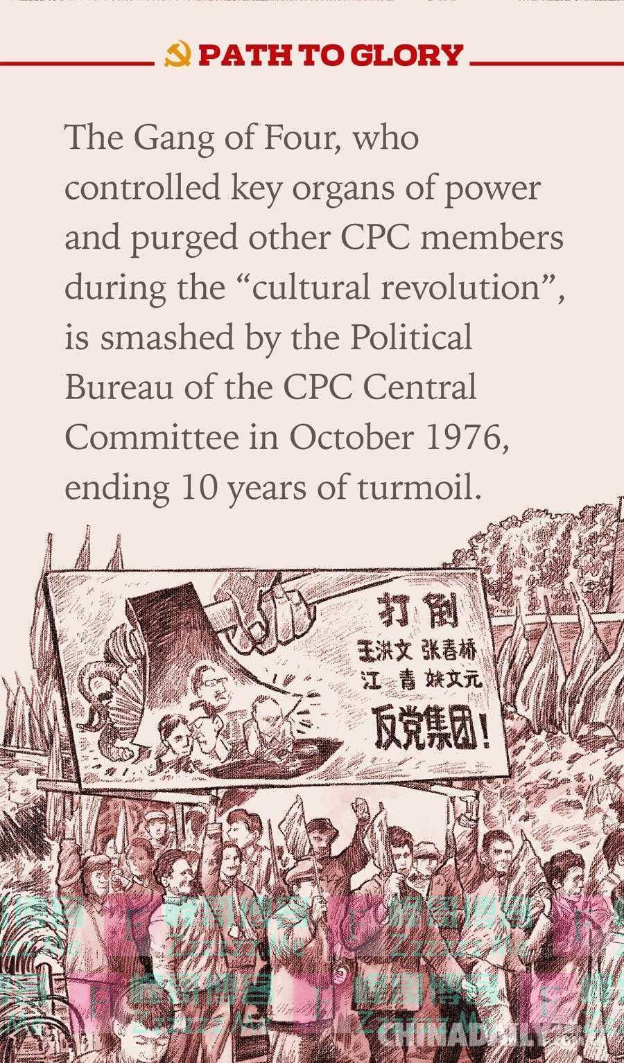 「百张海报迎百年」文化大革命结束