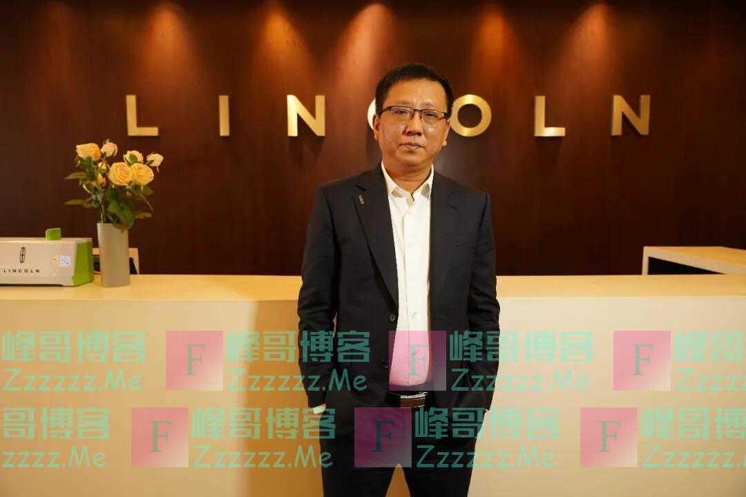 访浙江万银集团林肯事业部总经理张玉辉