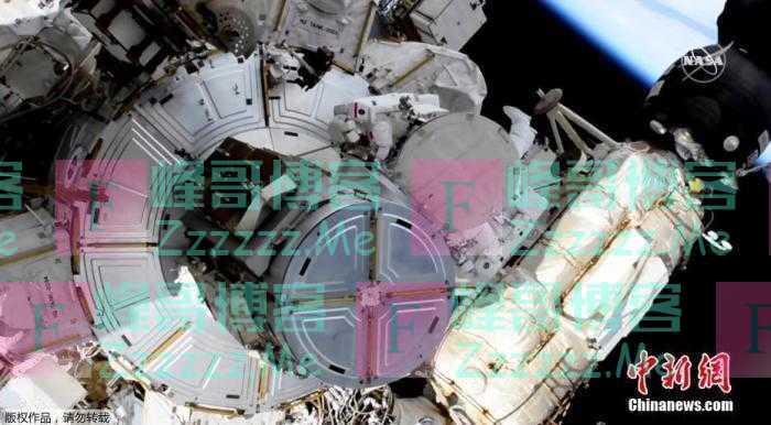 俄航天集团:国际空间站轨道高度修正850米