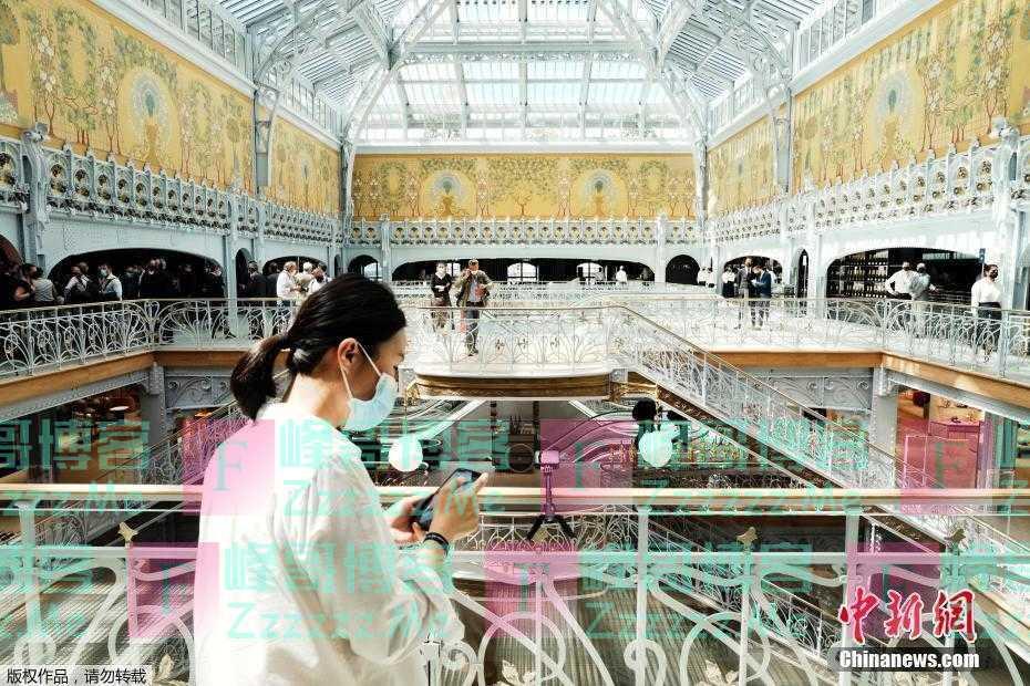 巴黎百年地标建筑莎玛丽丹百货商店关闭16年后重新开业
