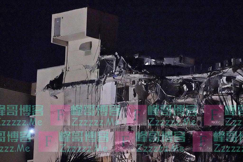 美佛罗里达州一12层公寓大楼倒塌