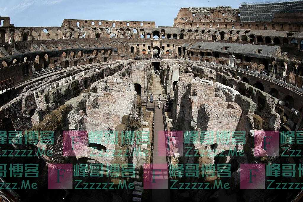 意大利罗马斗兽场及地下墓穴对媒体开放