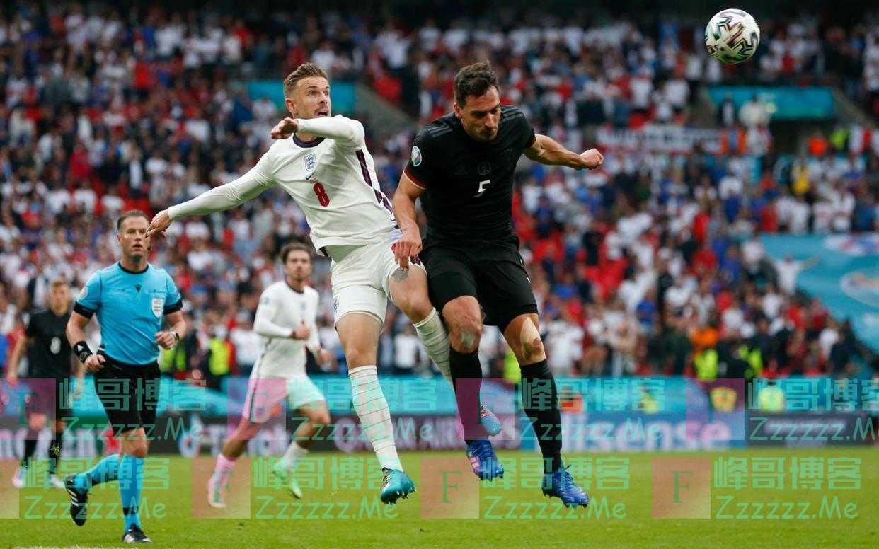 英格兰淘汰德国进八强,舍瓦带队再创奇迹