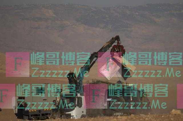 又开始了?以色列拆毁约旦河西岸的巴勒斯坦人村庄