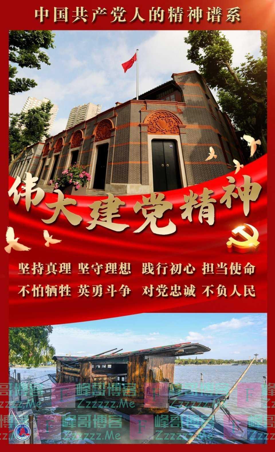 中国共产党的伟大建党精神启示录