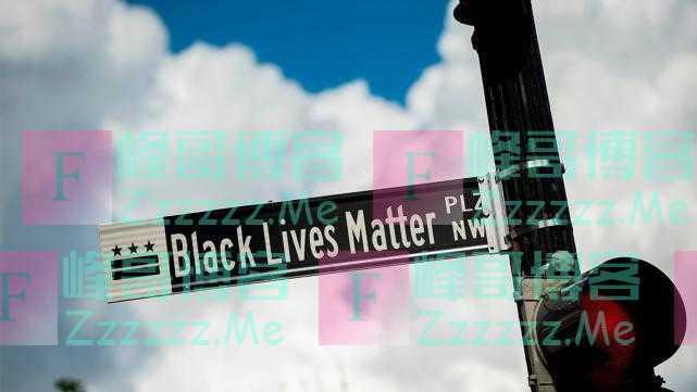 """美国首都开建""""黑人的命也是命""""广场,将成为永久性设施"""