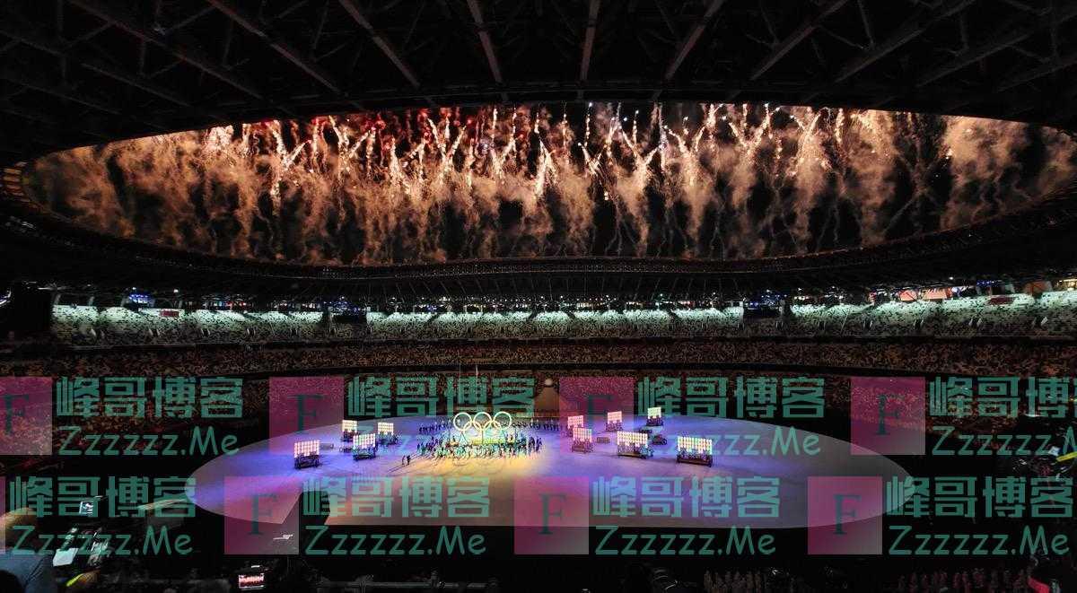 奥运火炬点燃!开幕式完整版现场高清图来了