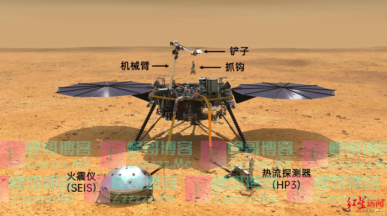 真的适合人类居住吗?首张火星内部详细地图出炉——一颗巧克力太妃溏心球