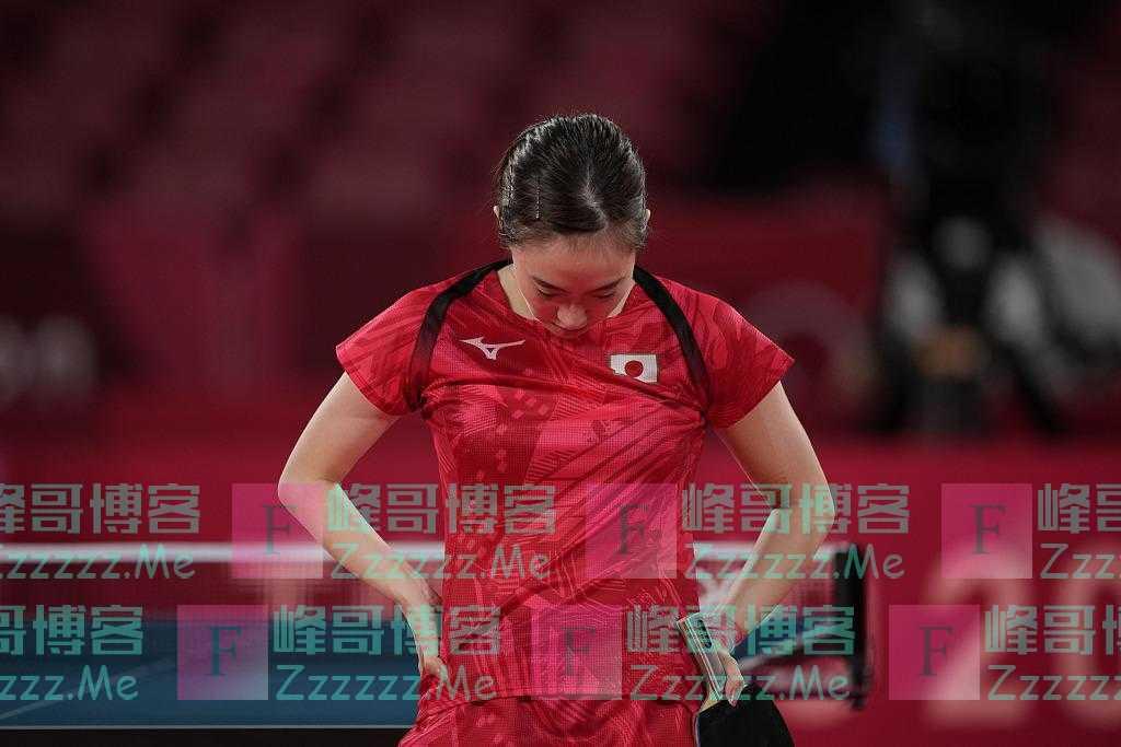 """日本乒乓球选手石川佳纯出局 接受采访时称""""非常遗憾"""""""
