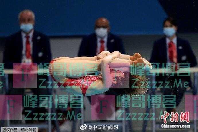施廷懋成女子跳水两届奥运包揽四金第二人