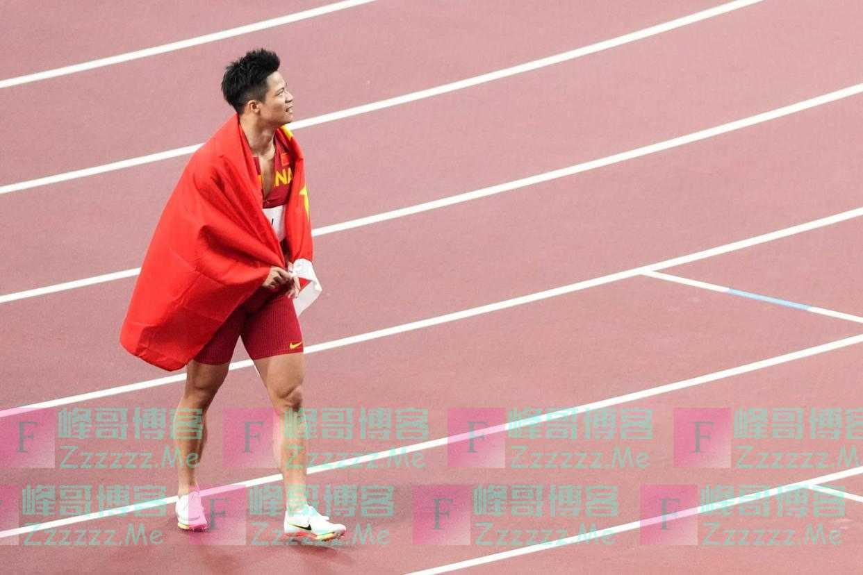 现场|苏炳添采访纪实:我和刘翔一直联系,他是我的幸运之神