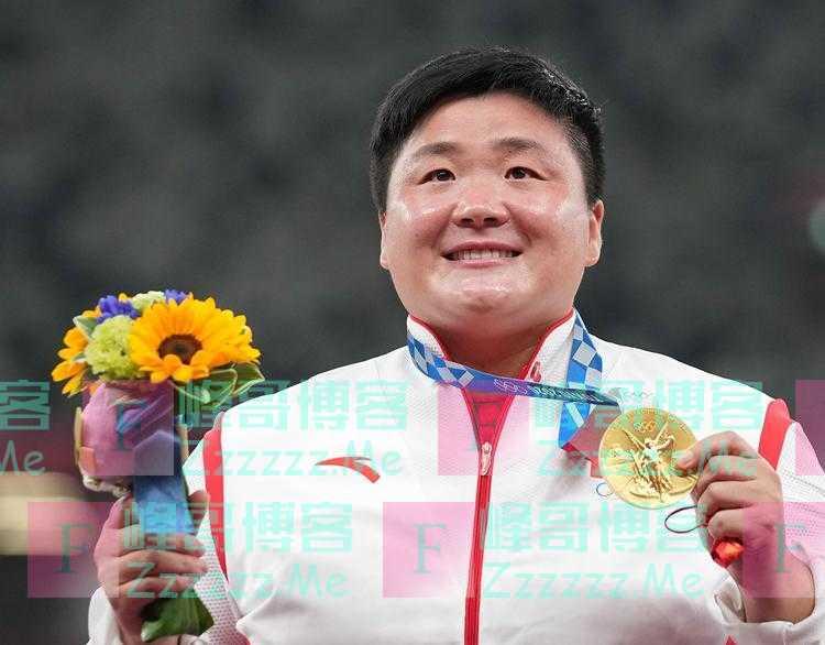 巩立姣终圆奥运冠军梦 赢得河北省田径项目首枚奥运金牌