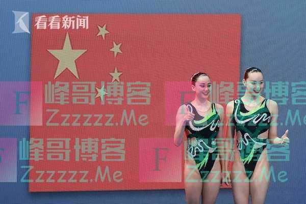 中国花样游泳摘银 黄雪辰妈妈:下次超越俄罗斯