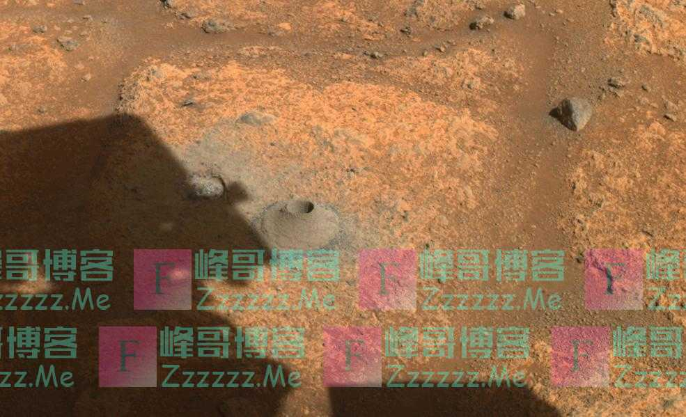 """""""毅力""""号的首次火星岩石样本采集出故障:采集了一个空管"""