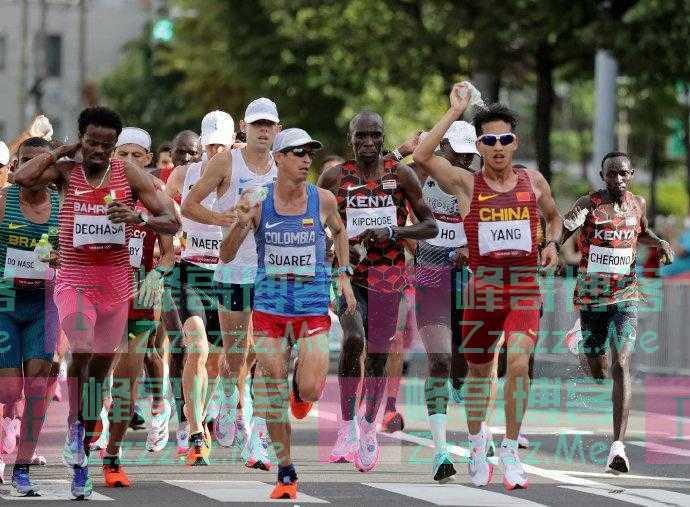 东京奥运会男子马拉松决赛,中国选手杨绍辉获得第19名!
