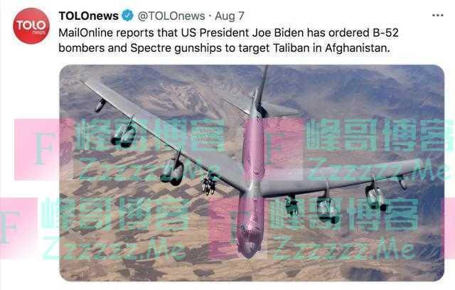塔利班对美国发出警告