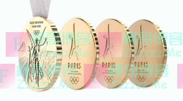 创意新颖独特!巴黎奥运会奖牌1块可以拆成4块
