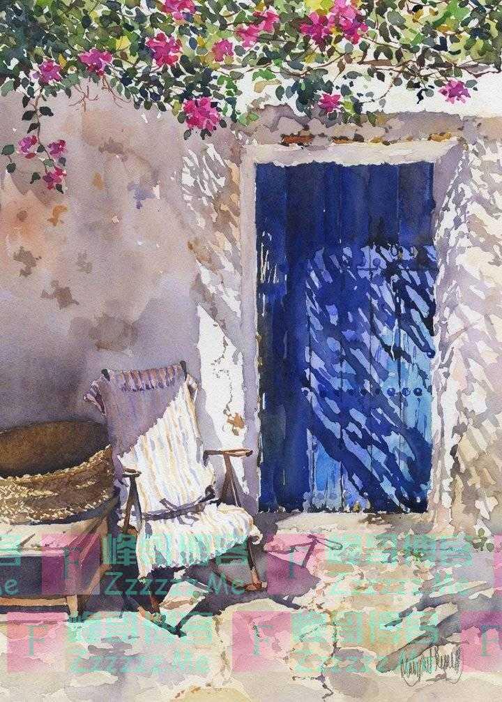 鉴赏|英国女画家玛格丽特笔下,轻快明朗的世界