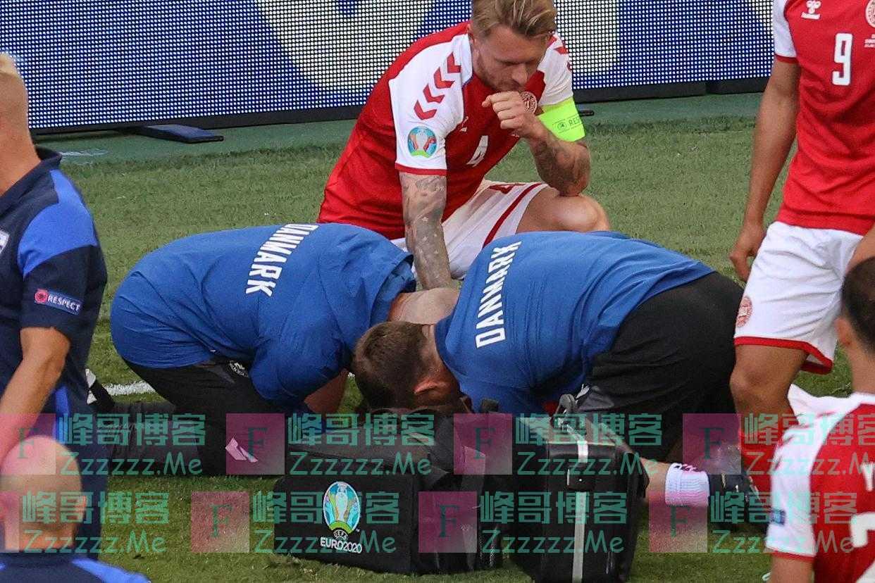"""拯救埃里克森生命的丹麦队长克亚尔,获颁""""欧足联主席奖"""""""