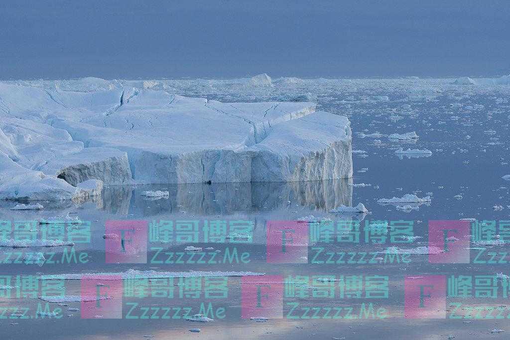 """科学家发现世界""""最北岛屿"""",直径约30米高约3米"""
