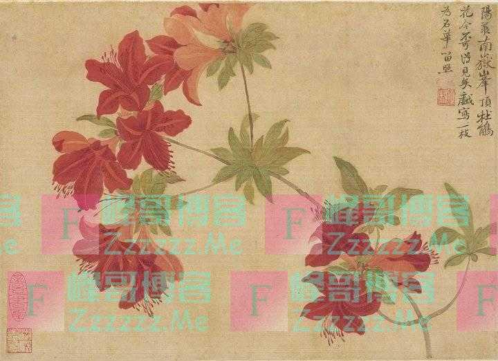 趣读|恽寿平:他就是画家里最会画花的