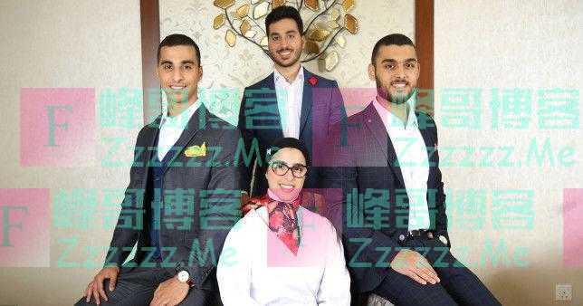 迪拜四胞胎考上同一所大学 于上月顺利毕业