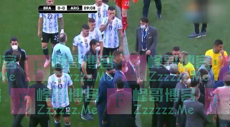 活久见!世预赛巴西对阵阿根廷开场7分钟突遭暂停:卫生部门介入称阿球员违反防疫