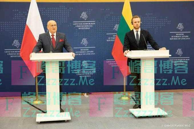 当着立陶宛的面,波兰给台湾当局浇了盆冷水