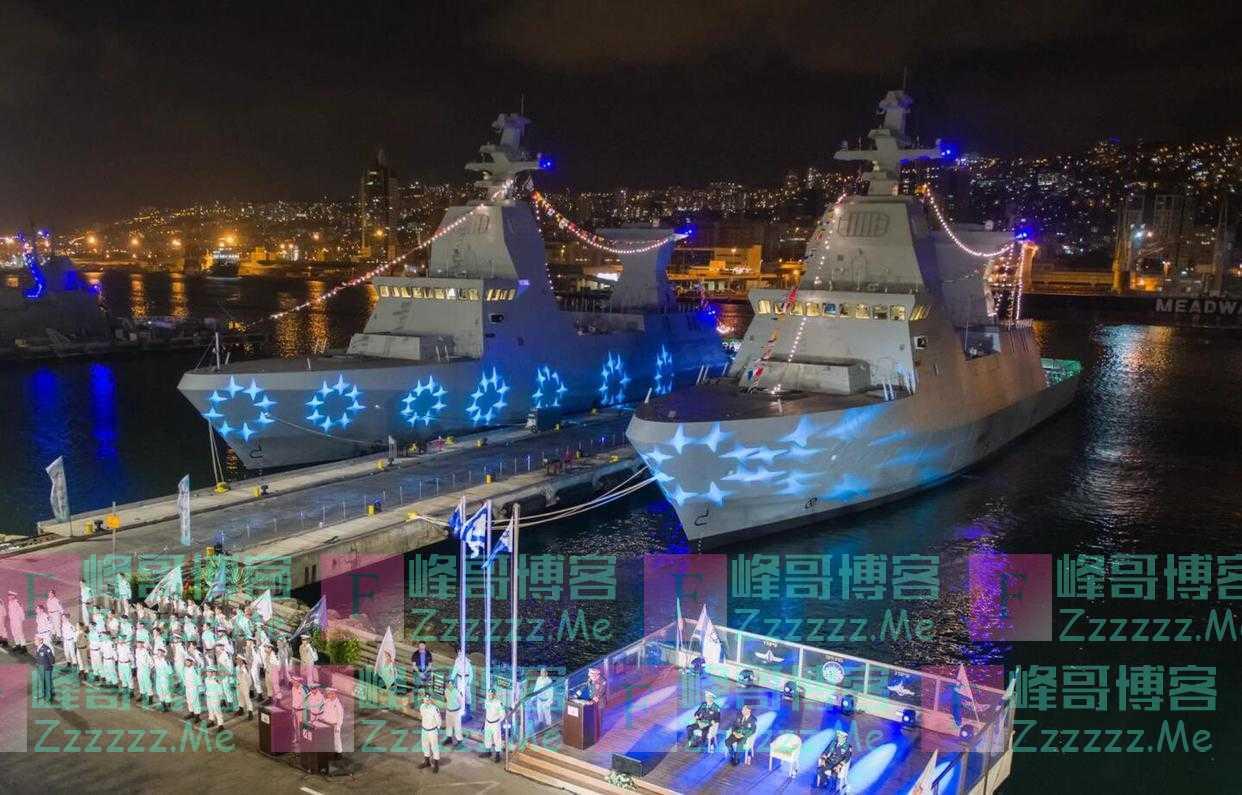 """以色列4艘萨尔6型护卫舰全部交付完毕,将成以军""""关键支柱"""""""