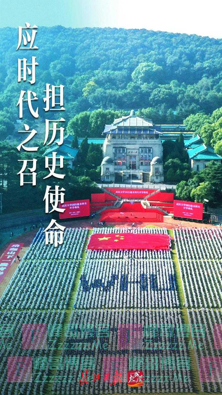 武大开学 海报