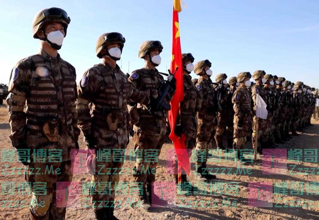 正式开始!中国军队帅气亮相俄罗斯