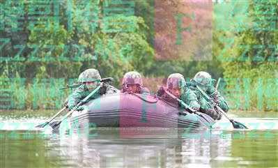 两栖尖兵在行动——南部战区陆军某海防旅特战突击队考核掠影