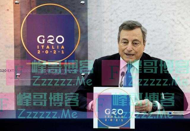 G20同意与塔利班合作,以避免阿富汗发生人道危机